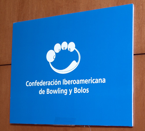 Logotipo Confederación Iberoamericana de Bowling y Bolos